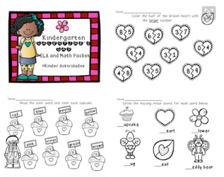 https://www.teacherspayteachers.com/Product/Kindergarten-Valentines-Day-ELA-Math-Packet-2091045