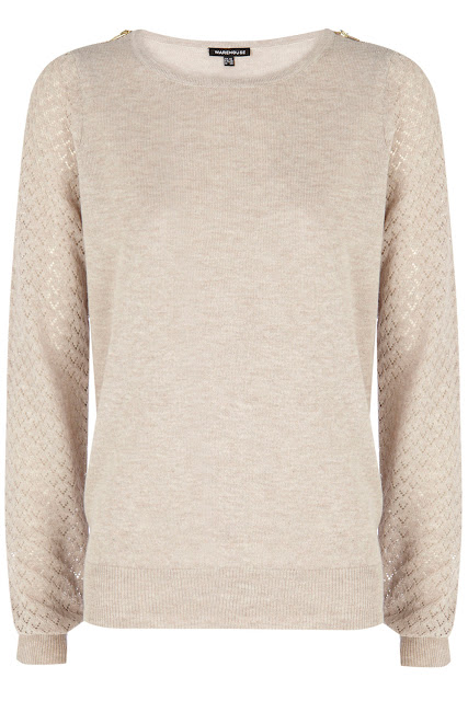 cream zip jumper