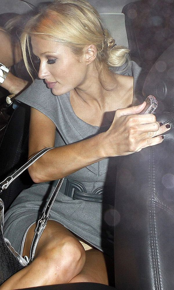 Paris hilton new years pussy