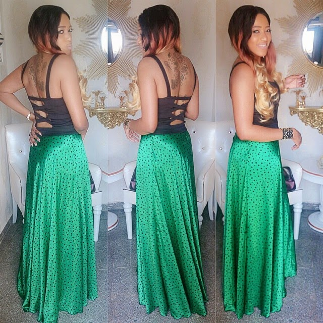 Rukky Sanda's Outfit of The Day
