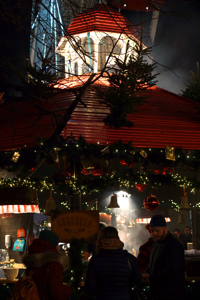 Hello Freckles Edinburgh Christmas Market