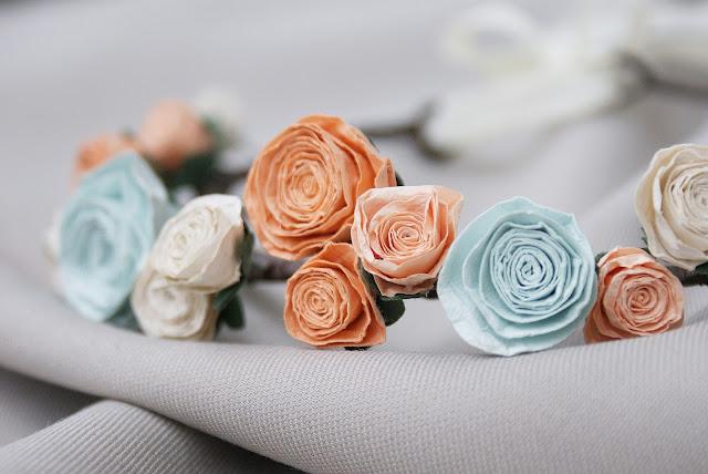wianek, wianek z róż, ślub, wesele