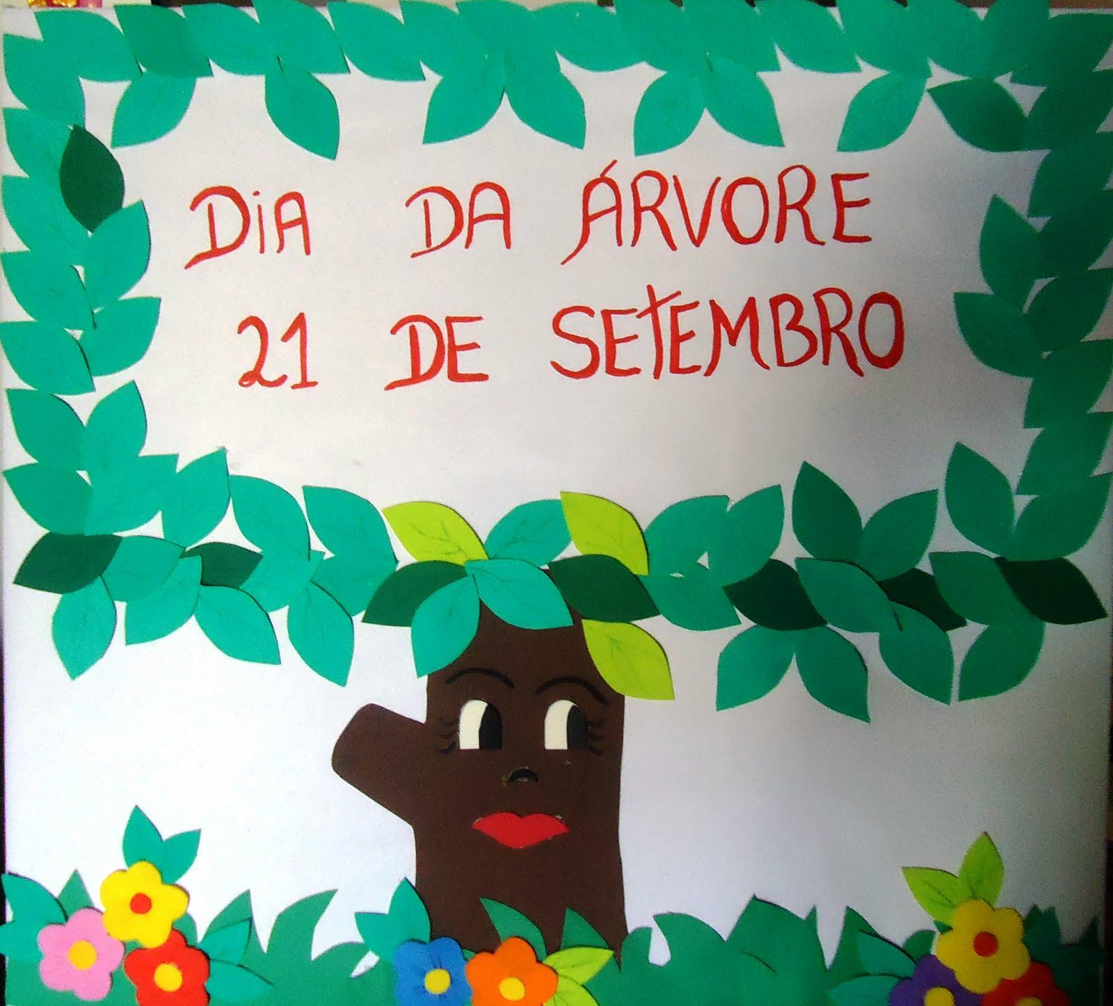Coisinhas da tia al mural dia da rvore for Mural dos sonhos o segredo