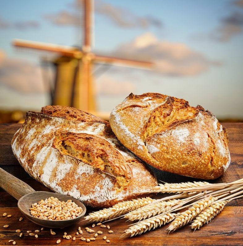 dos panes rusticos bodegon