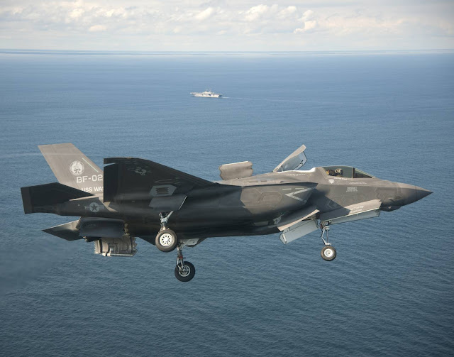 F-35B Lightning II & USS Wasp