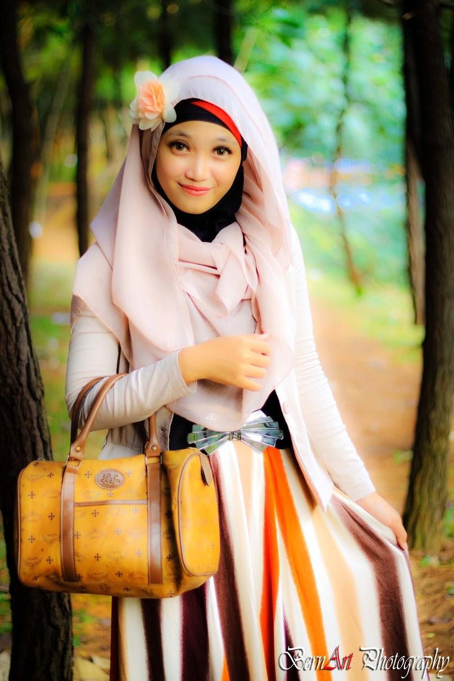 Hijab Fashion Jilbab Online Cantik Cara Memakai Jilbab