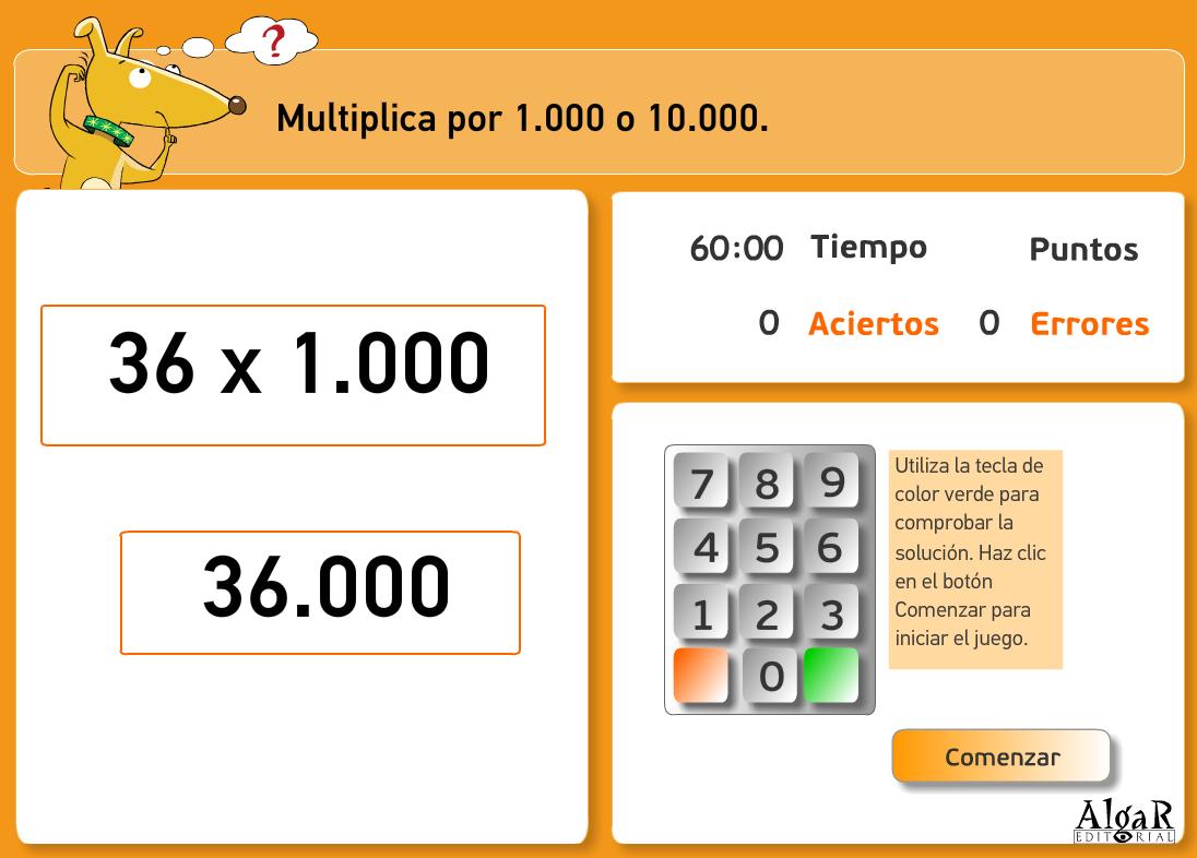 http://www.primerodecarlos.com/TERCERO_PRIMARIA/archivos/actividades_capicua_tercero/6/multiplicar_por_1000_10000.swf