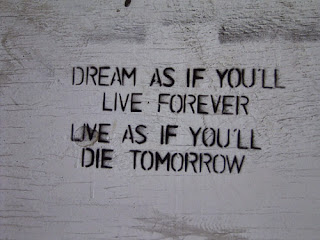 Live as if you die tomorrow