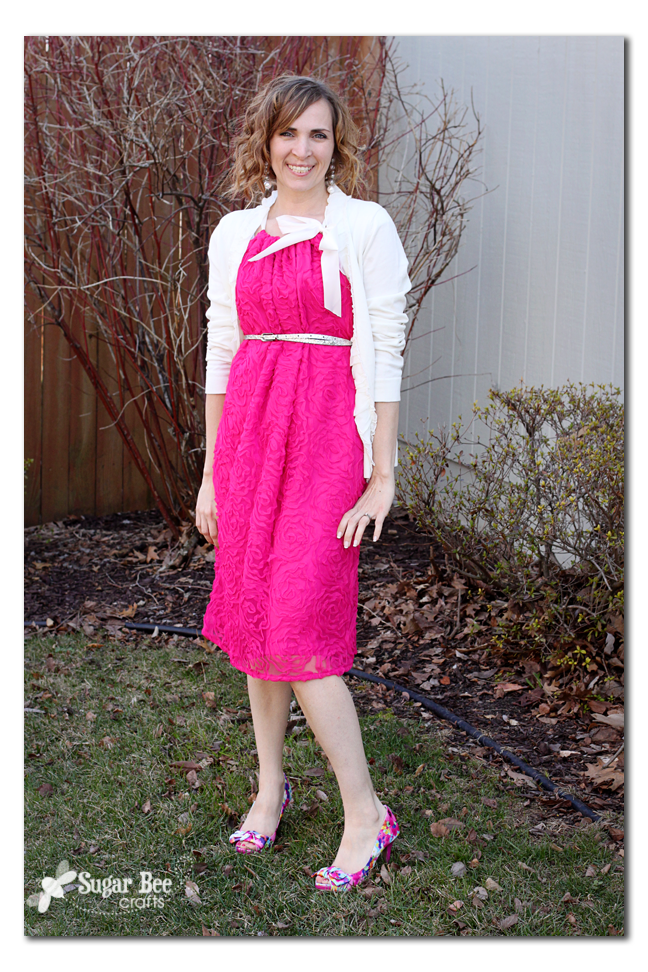 Lace Overlay Adult Pillowcase Dress - Sugar Bee Crafts