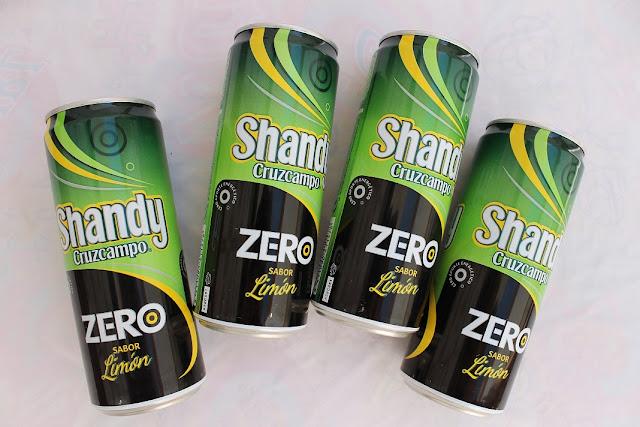 shandy cruzcampo zero limon
