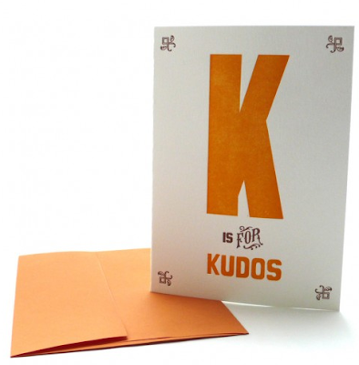 Alphabet Greeting Cards from Heart Fish Press