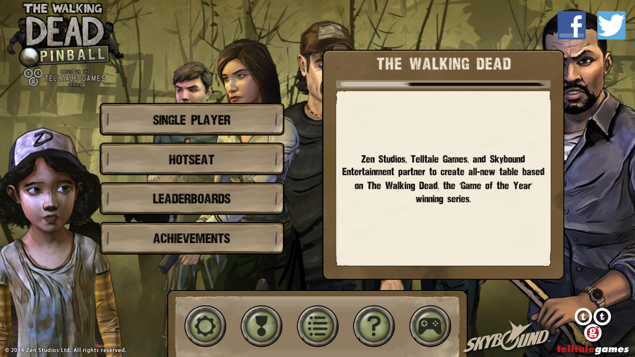 The Walking Dead Pinball v1.0.2