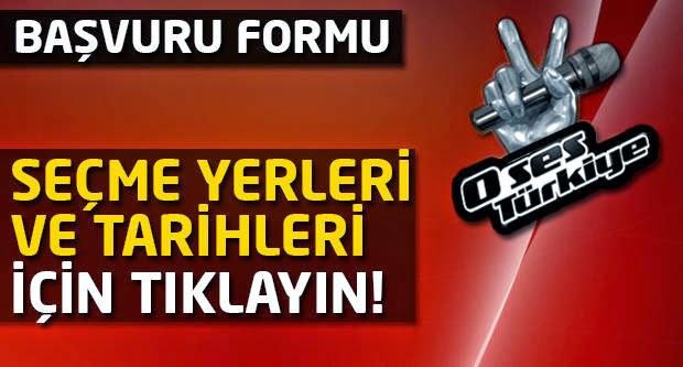 O Ses Türkiye Tv8 Eleme Seçme Yerleri Tarihleri