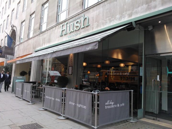 Snig 39 S Kitchen Hush Brasserie High Holborn