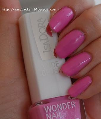 naglar, nails, nagellack, nail polish, isadora, bella vita, trend nails, rosa, pink