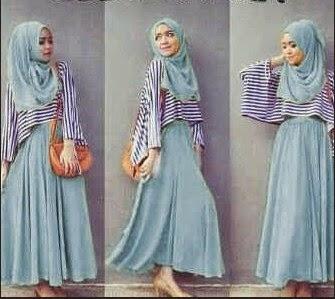 Foto Trend Baju Gamis Terkini
