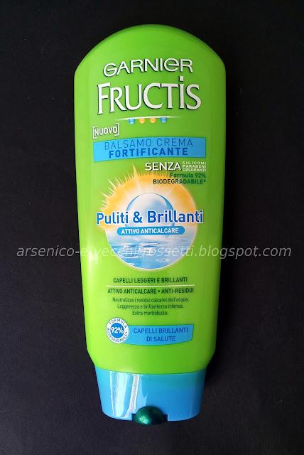 Garnier Fructis Balsamo Puliti & Brillanti