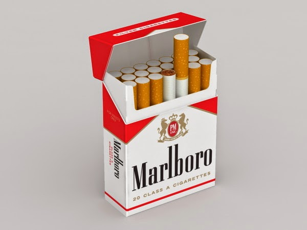 A pack of cigarettes Golden Gate in Ireland