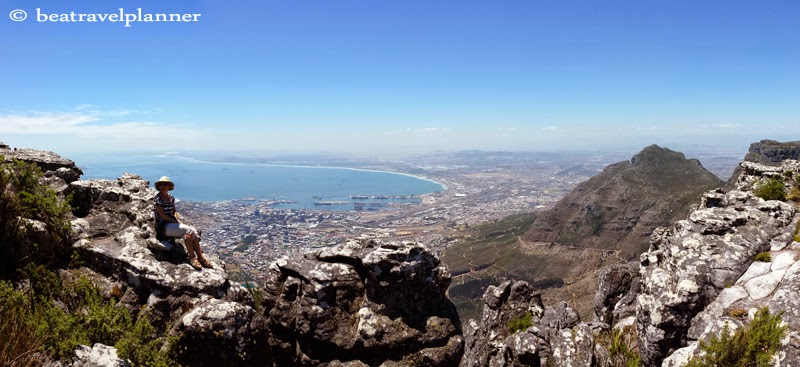 Cape Town visto dalla Table Mountain