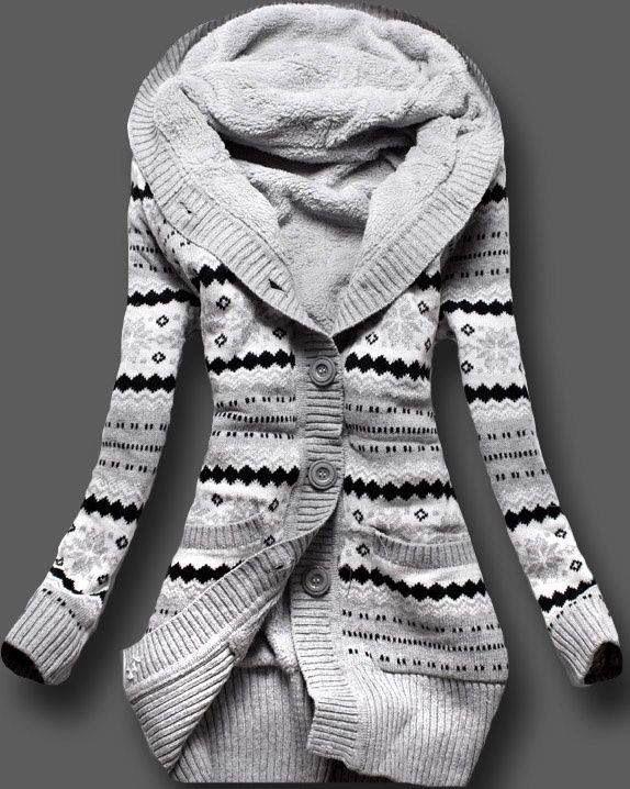 Full Sleeves Norwegian Style Sweater