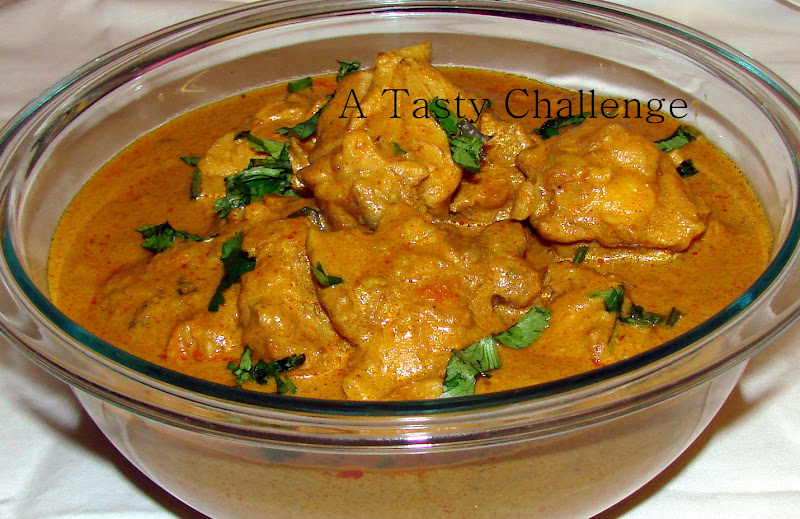 Chicken in Roasted Cashew Peanut Gravy