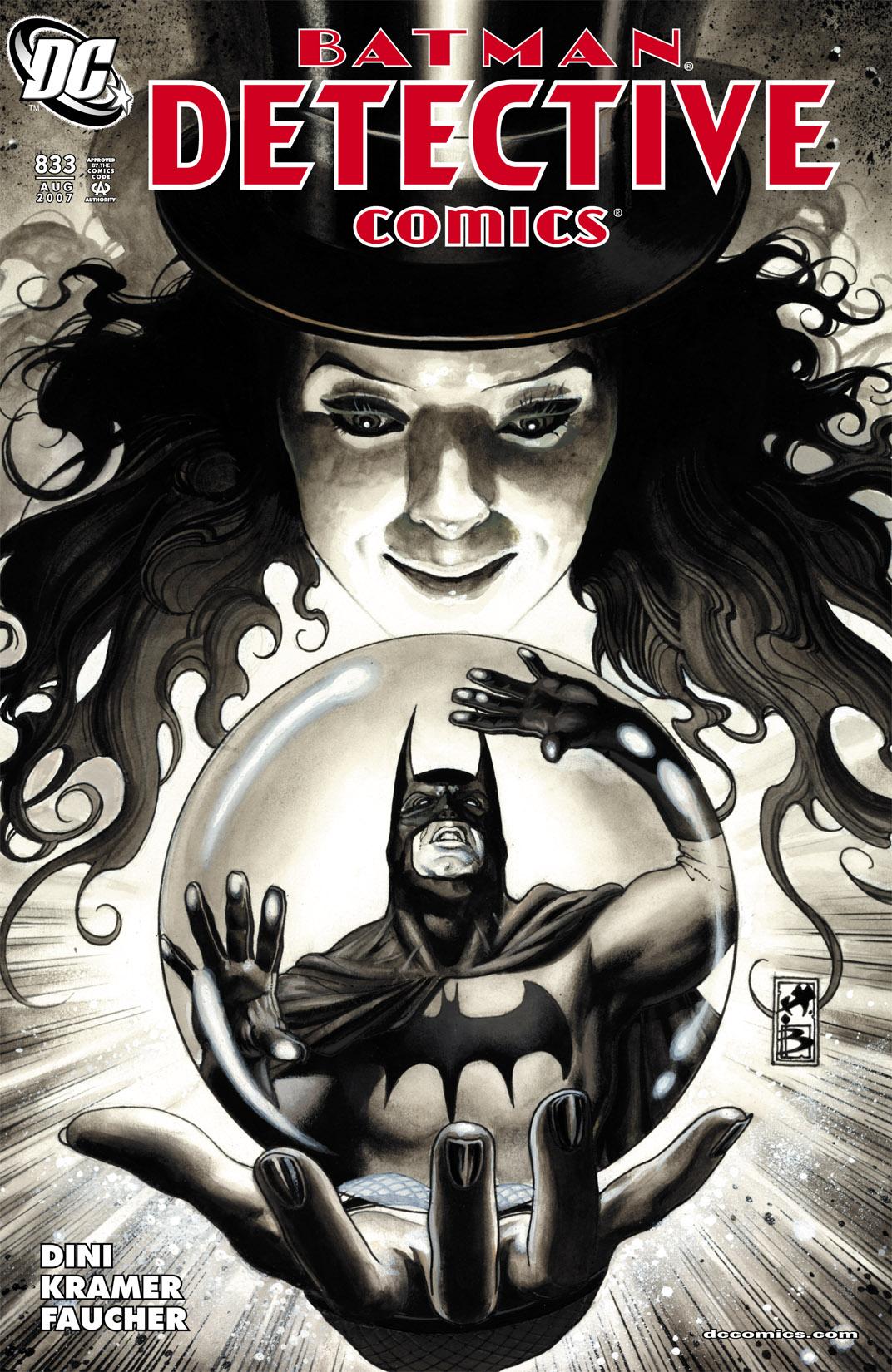 Detective Comics (1937) 833 Page 1