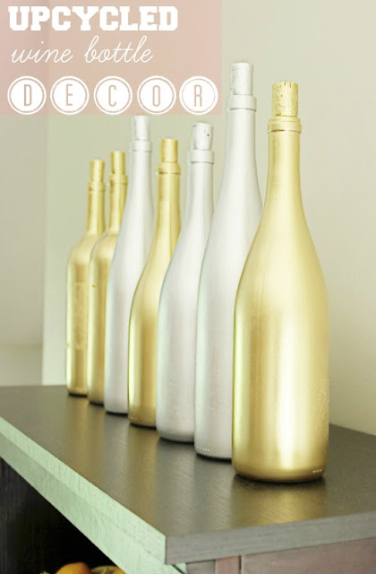 The Everything Soap Blog Diy Upcycled Wine Bottle D Cor