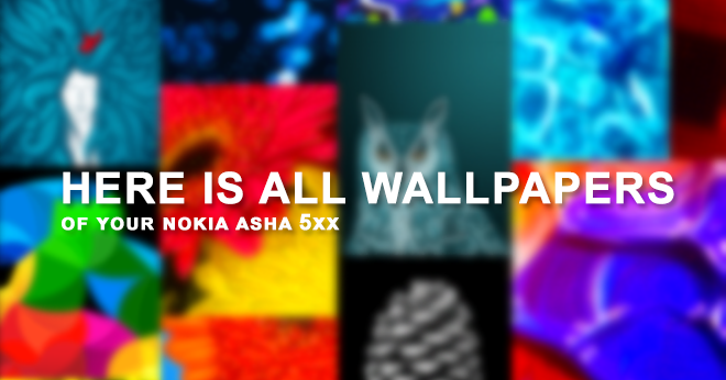 free download wallpaper for homescreen for nokia asha 501