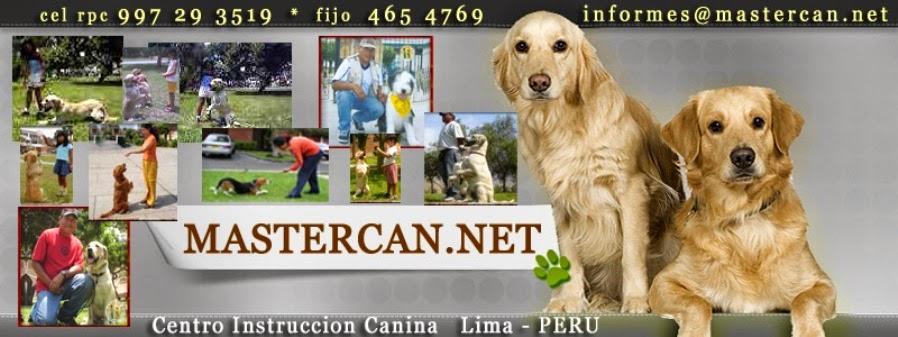 MASTERCAN educacion canina a domicilio Lima PERU