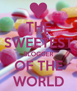 premio: The sweetest blogger of the world