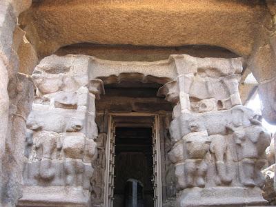 Main sanctum sanctorum of Shore Temple, Mahabalipuram