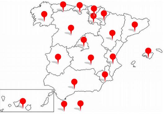 Comunidades Autónomas: