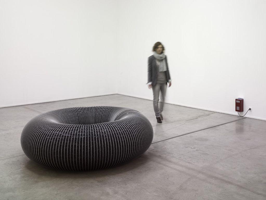 Bertrand Lamarche - Lobby (Hypertore), view at Palais de Tokyo, 2010 © André Morin