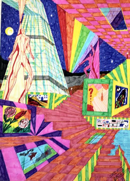 Ecalera de arte 11-8-90