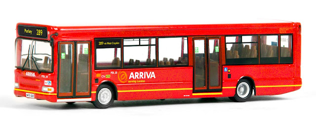 EFE  36609 - SLF Dart  - Arriva South London After requests for south London models we have responded with Arriva's SLF dart, fleet number PDL 25, registered X475 GGO, working route 289 to Purley. RRP £34.50