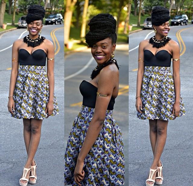 Women Dresses Lovely Ankara Skirt Design Debonke House Of Fashion
