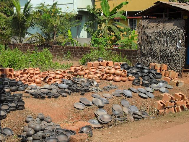 Ночные горшки. Производство в Индии