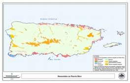 Mapa de humedales de Puerto Rico