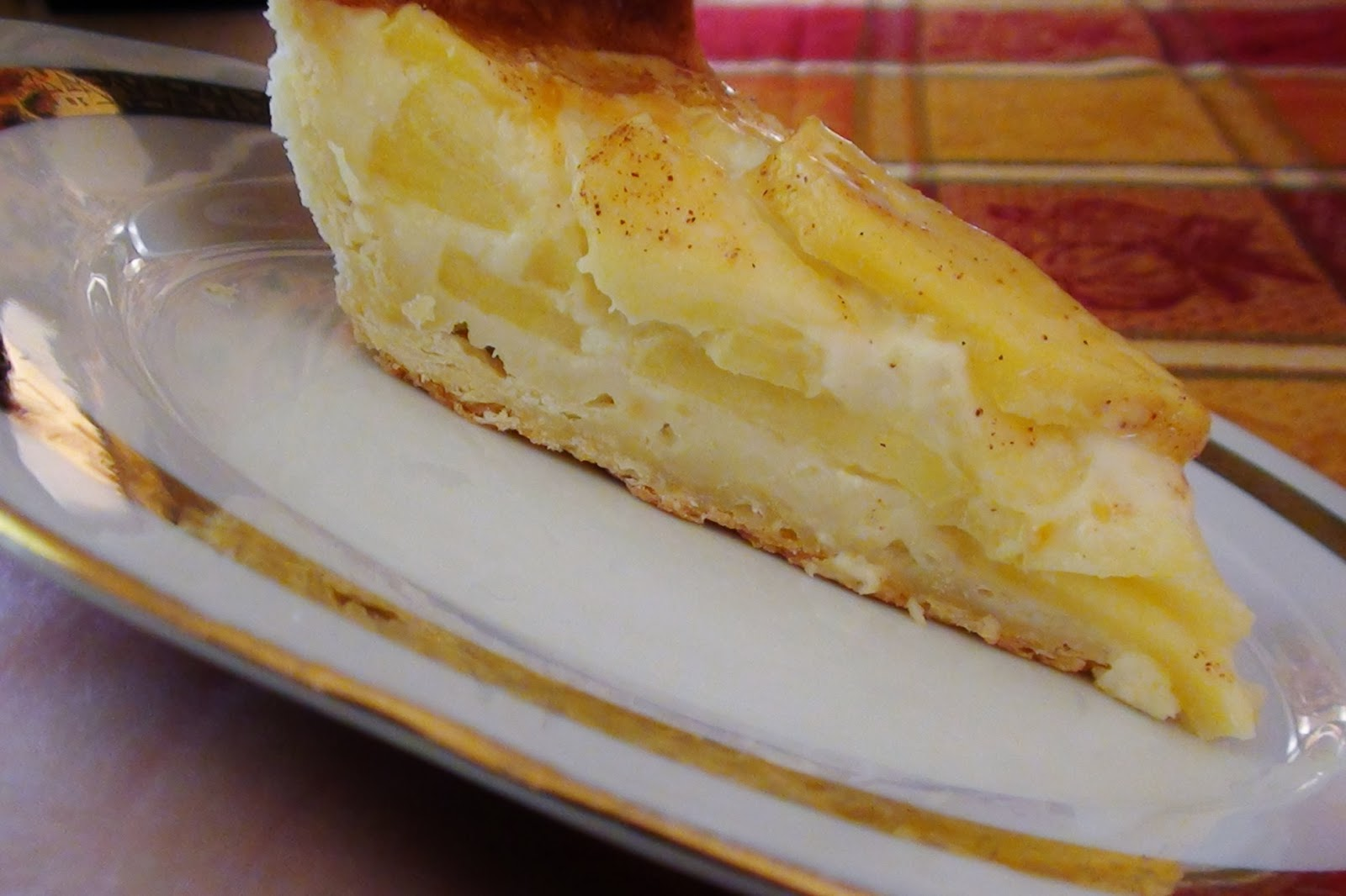 zsuzsa is in the kitchen: CUSTARD APPLE PIE