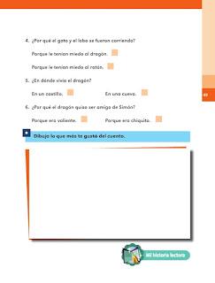 Apoyo Primaria Español 1er grado bimestre 2 lección 1 Me gustan los cuentos