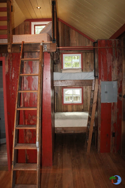 Relaxshacks Loft And Bunk Beds Tiny Cabin House One Ten Things Dig