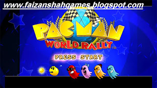 Pac man world rally mappy