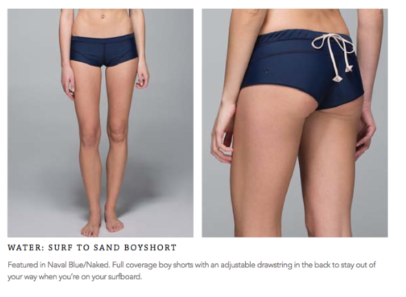 lululemon surf to sand boyshort
