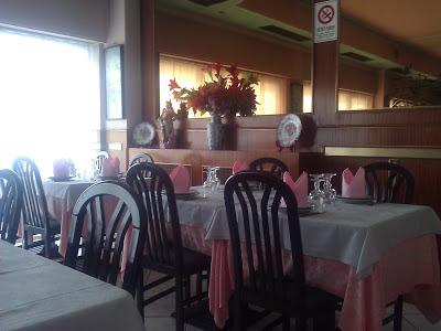 Sala ristorante Giardino di Giada a Biella
