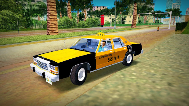 Ford LTD Crown Victoria SPC Cab 1985 GTA Vice City