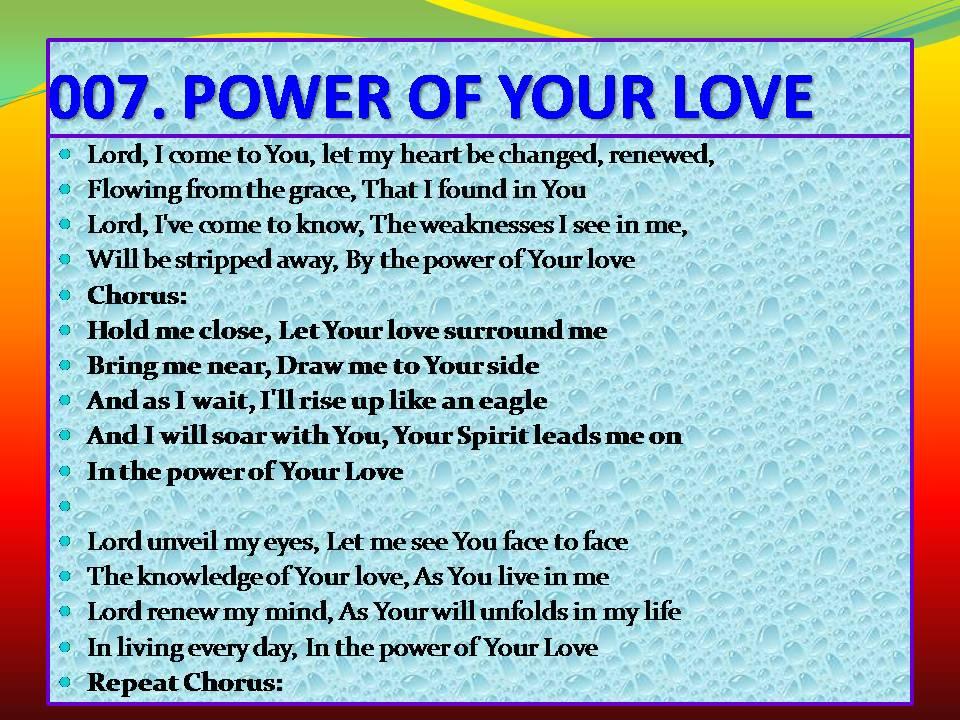 Remember god loves you lyrics