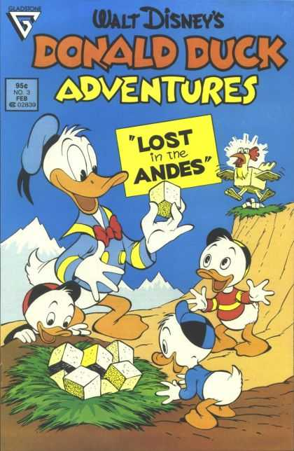 ebook comic Donald Duck - Lost in the Andes