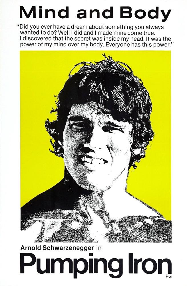 every 70s movie pumping iron 1977