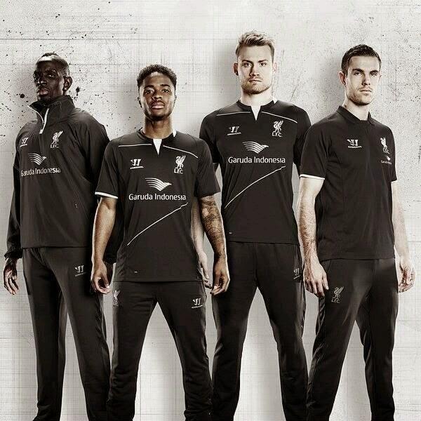 Ada Logo Garuda Indonesia di Jersey Latihan Terbaru Liverpool - Berita
