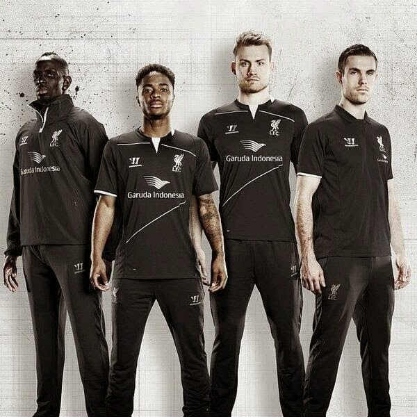 Liga Inggris  - Ada Logo Garuda Indonesia di Jersey Latihan Terbaru Liverpool
